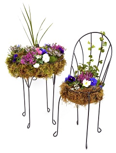 Table and Chair Planters
